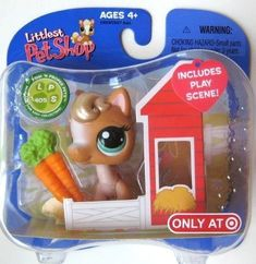 LPS Littlest Pet Shop Target Exclusive Pony Horse with Play Scene New in Package RARE Retired Hasbro Collectible Toy