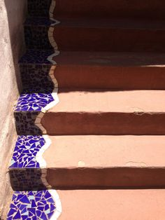 Creating interesting steps with mosaic