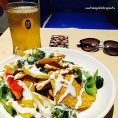 Nachos and chilled beer at German Bakery Lonavala. A must visit place to hang out with your friends just before you reach at the top of the hills.  #ESDRTravels #ESDREats #HappyTimes #Food #Alcohol #BeerFreak #HighOnLife #MexicanCuisine #TheFoodDiary #TheFoodStory #EatSleepDrinkRepeat
