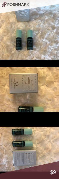 House of Lashes Black Mini Adhesive Set of Two NIB Both are black. 3 mL each. Never opened. House of Lashes Makeup False Eyelashes
