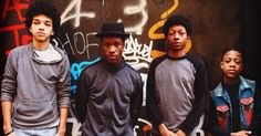 "An absolute must see!!  ""The Get Down"" (Netflix) - One of the most artistic TV shows ever made.  Amazing: acting, music, and visual cinematography.     Cast in photo:  Justice Smith, Shameik Moore, Skylan Brooks, & Tremaine Brown Jr."