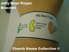 Jelly Bean Prayer Bracelet Printable