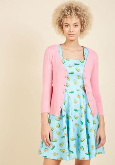 Charter School Cardigan in Carnation in M, #ModCloth