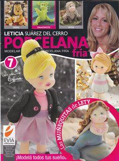 Cold Porcelain Magazine 7 by Leticia Suarez del Cerro (Spanish) PORCELANA FRIA