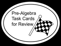 At the end of the school year I need LOTS of review problems for students! Often, I wish I could edit a pre-made review. This set of task cards includes 60 review problems. In addition, there is an EDITABLE PAGE you may use to create additional problems of your own. using PowerPoint (with Equation Editor if desired). Seventh Grade Math, 8th Grade Math, Middle School, High School, Math Lab, Secondary Teacher, Math Intervention, School Grades, Brain Breaks