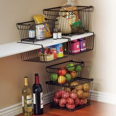 Good for current pantry, and maybe the kids room? Socks and undies?