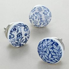 Royal Blue Ceramic Door Knobs Cupboard Door Handles by G Decor, the perfect gift for Explore more unique gifts in our curated marketplace. Cupboard Door Knobs, Cupboard Drawers, Drawer Knobs, Knobs And Handles, Door Handles, White Glossy Kitchen, Do It Yourself Bathrooms, Painted Wardrobe, Ceramic Door Knobs