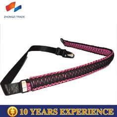 """Tactical 550 Paracord 46 """" Hunting Airsoft 2 Point Rifle Gun / Rifle Sling ( Light Pink )"""