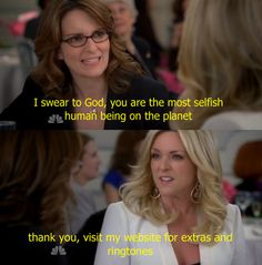 Whatever you want to say about Jenna Maroney, you have to acknowledge the fact that her self-confidence level is on point.