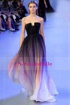2016 vestidos de baile Aline cariño barrer / cepillo de la gasa de la cremallera Volver Multi Color Nave Hoy