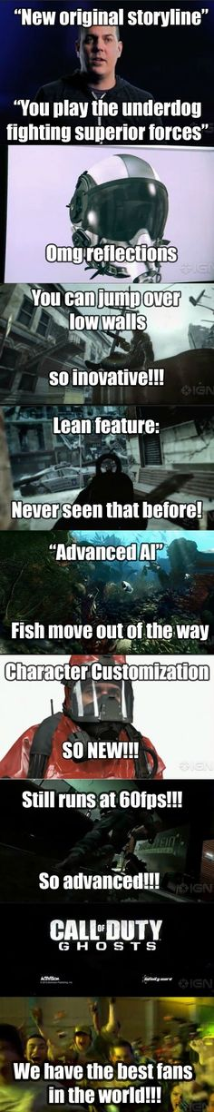 Call of Duty Ghosts - funny pictures - funny photos - funny images - funny pics - funny quotes - #lol #humor #funny