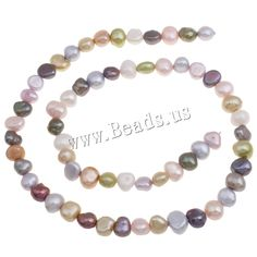 Baroque Cultured Freshwater Pearl Beads mixed colors 6-7m,china wholesale jewelry beads Beaded Jewelry, Beaded Bracelets, Wholesale Jewelry, Pearl Beads, Fresh Water, Baroque, Color Mixing, China, Pearls