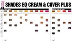 shades eq cream and cover plus shade chart