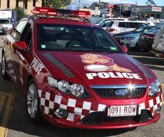 Queensland State of Origin Police Car - oldridez Lights And Sirens, Old Police Cars, Aussie Muscle Cars, Police Patrol, Bike Equipment, Military Vehicles, Police Vehicles, State Police, Emergency Vehicles