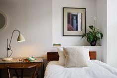 Hotel Rooms Soho London, Hotel Rooms Bloomsbury - My Bloomsbury Haymarket Hotel, Soho Hotel, Double Room, London Hotels, Welcome Decor, Bloomsbury, Bed Sizes, Dorm Room, Contemporary Design