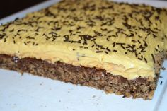 Pin on Dulciuri Sweets Recipes, No Bake Desserts, Cake Recipes, Romanian Desserts, Romanian Food, Almond Cookies, Pastry Cake, Ice Cream Recipes, Desert Recipes
