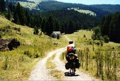 2,500 miles with an elevation change of 200,000 feet to ride the continental divide.