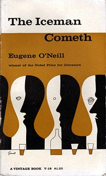 The Iceman Coneth by Eugene O'Neill (1961) | Cover by George Giusti