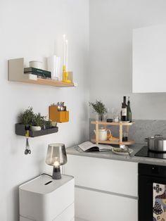Aitio Shelves by Cecilie Manz for Iittala | Nordic Days #kitchen #iittala