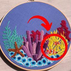 Mit dem neuen Stickly kann JEDER ganz schnell und einfach wahrlich schöne und eindrucksvolle Motive Sticken. Heute kostenlos bestellen! Diy Embroidery, Embroidery Patterns, Crafty Craft, Diy Flowers, Diy Art, Diy Fashion, Needlework, Diy And Crafts, Projects To Try