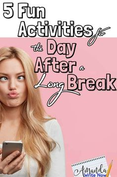5 Fun Activities to do with Your Students the Day After Coming Back from a Long Break