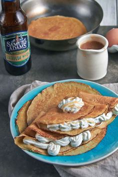 Beer Batter Orange Crepes
