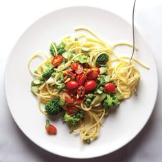 Invented in 1975 by Sirio Maccioni of Le Cirque restaurant in New York City, this classic is a colorful combination of pasta, cream, parmesan, and lightly sautéed spring and summer vegetables.