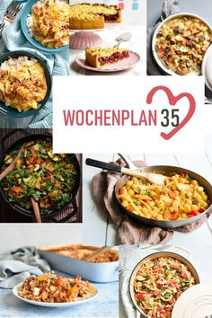 Weekly schedule # Varied recipe ideas for a week. - What is there to eat during the week? Delicious vegetables, pasta, pizza or a curry or rice dish? Easy Cooking, Cooking Recipes, Rice Dishes, Menu Planning, Food Preparation, Curry, Better Life, Breakfast Recipes, Easy Meals