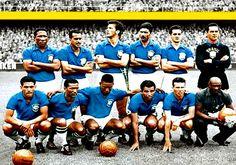 Equipos de fútbol: SELECCIÓN DE BRASIL Campeón del Mundo en 1958