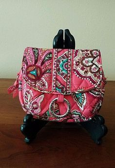 VERA BRADLEY CALL ME CORAL SHOOT FROM THE HIP MINI TRAVEL BELTED BAG HANDBAG #VeraBradley #FannyPack