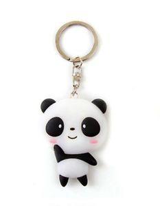 Silicone-Cute-Panda-Cartoon-Keychain-Bag-Pendant-Key-Ring-Kawaii-Present