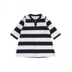 striped flannel dress