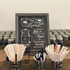 Trail Mix Bar Printable Wedding Sign, and Digital JPG and PDF, Chalkboard Style (Cleo Suite - wedding - Studentenfutter Sign Printing, Charity Wedding Favors, Sparkler Send Off, Bar Signs, Sparklers, Wedding Signs, Kids Meals, Chalkboard, Diy