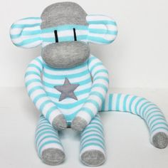 sock monkey - love this!