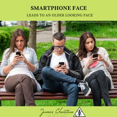 🛑 STOP YOUR SCROLL! 🛑 Are you looking down at your phone? 🤔 Your smartphone may make you look older! It's called Smartphone Face, and we tell you all about it here: Sagging Cheeks, Facial Fillers, Look Older, Lip Plumper, Skin Treatments, Smartphone, Told You So, Nyc, Christian