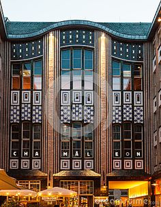 Le Jugendstil - l Art Nouveau - architecture du Hackescher Hof Berlin