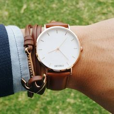 Classic, minimalistic watches and wristwear by J.Beverly