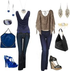 Girls night out., created by sheila-128 on Polyvore
