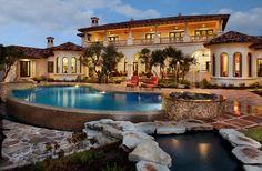 Showcase home in Austin: Spanish Oaks Hacienda