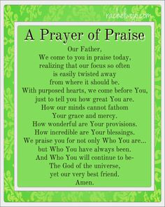 Bible Reading Challenge Day 111 and A Prayer of Praise Prayer Of Praise, Faith Prayer, God Prayer, Power Of Prayer, Praise The Lords, Prayer Of The Day, Praise God Quotes, Night Prayer, Prayer Scriptures
