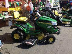 Fresno Equipment showcasing John Deere Equipment at the Fresno Home & Garden Show