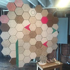 """Loves this """"wallpapering"""" by @dear_human showing at @wanteddesign #manhattan #nycxdesign #foragedoesnyc"""