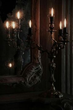 gothic candles | Gothic love..candle holder