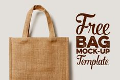 Eco shopping bag presentation free mock-up template from ForGraphic. Download and enjoy :)