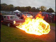 30ft Flamethrower exhaust!