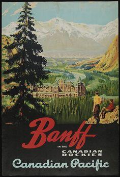 WOW! Ive been using this new weight loss product sponsored by Pinterest! It worked for me and I didnt even change my diet! I lost like 26 pounds,Check out the image to see the website, Banff - CP Rail Travel Poster, 1925