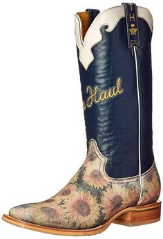 Tin Haul Shoes Women's Sunflower Western Boot >>> Check out the image by visiting the link.