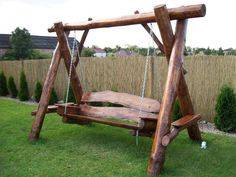I love this Bench / Swing - A chap in Chesterfield makes them. Thomas Furniture