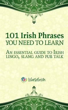 Buy 101 Irish Phrases You Need To Know: An essential guide to Irish lingo, slang and pub talk by Blathnaid Healy, Mark Farrelly and Read this Book on Kobo's Free Apps. Discover Kobo's Vast Collection of Ebooks and Audiobooks Today - Over 4 Million Titles! Ireland Vacation, Ireland Travel, Galway Ireland, Irish Quotes, Irish Sayings, Scottish Quotes, Irish Language, Irish Eyes Are Smiling, Irish Pride