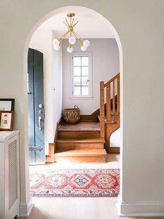 entryway kilim